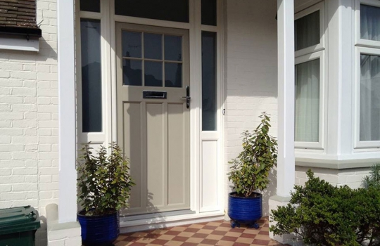 PVC Entrance 1930's style Door