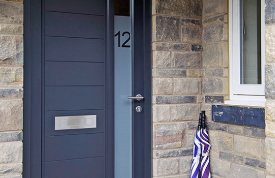 Contemporary Timber Entrance Door