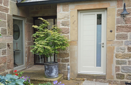 Timber Contemporary Dowr Entrance Door