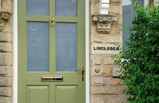 Timber Frenchay Entrance Door