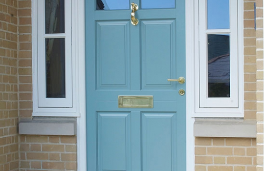 Traditional Timber Entrance Door in Felixstowe