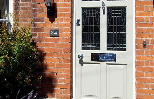 Timber Frenchay Entrance Door External