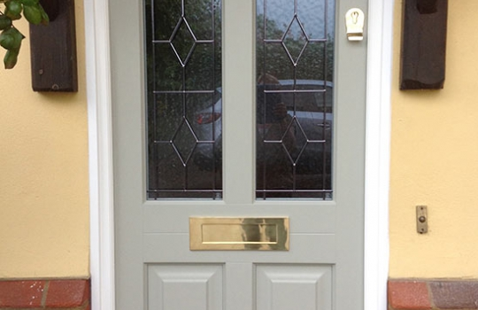 Traditional Timber Entrance Door