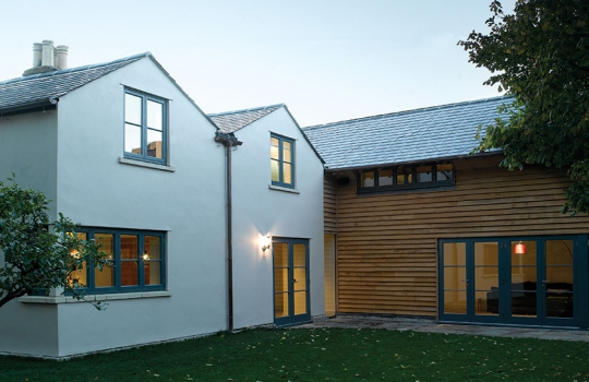 Timber Contemporary Flush Casement Windows