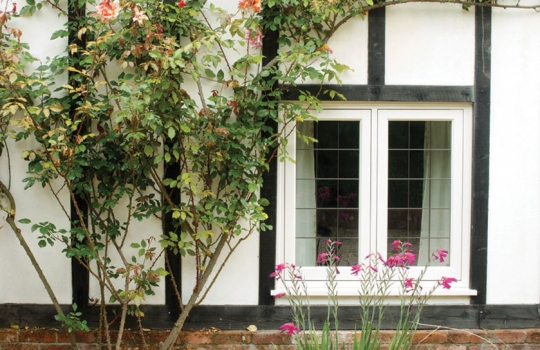 Timber Flush Casement Window