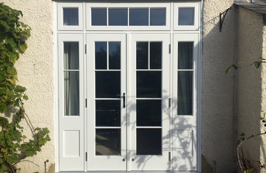 Traditional Timber French Doors in Colchester