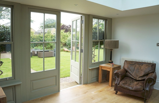 Traditional Timber French Doors in Suffolk