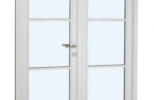 Urbane French doors