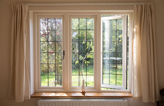 PVC Lipped Casement Windows