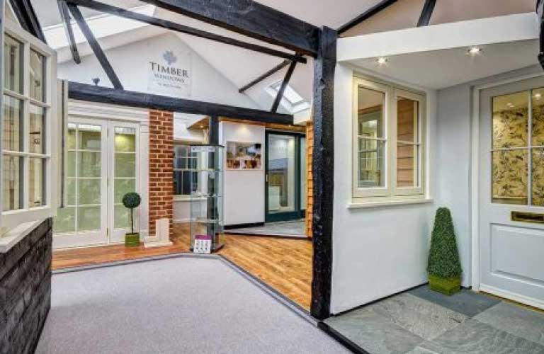 Our Timber windows Showrooms