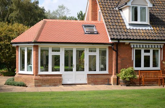 Lipped casement windows Suffolk