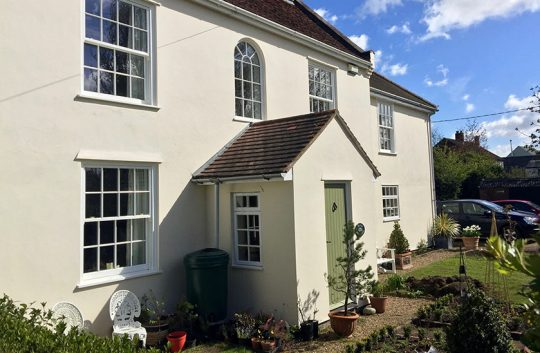 Timber Sash Windows Colchester