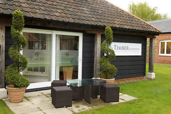 Timber Windows Fornham showroom